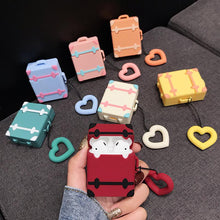 Load image into Gallery viewer, Cute Luggage Silicone Protective Case For Apple Airpods 1 & 2 - Casememe.com