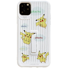 Load image into Gallery viewer, Pikachu Style Luggage Silicone Kickstand Shockproof Protective Designer iPhone Case For iPhone 11 Pro Max X XS Max XR 7 8 Plus - Casememe.com