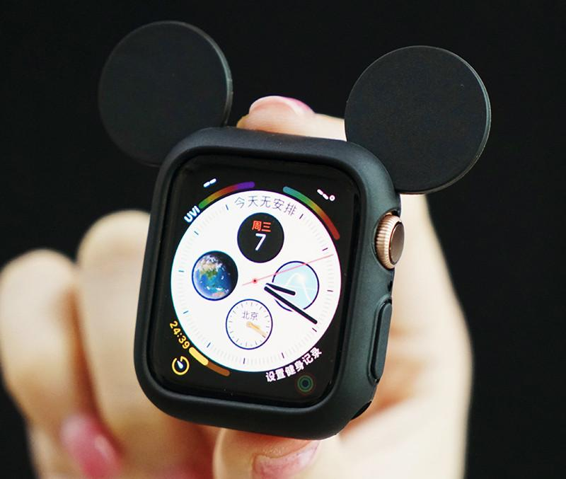 Disney Mickey Mouse Style Compatible With Apple Watch Silicone Case 38mm 40mm 42mm 44mm For iWatch Series 4/3/2/1 - Casememe.com