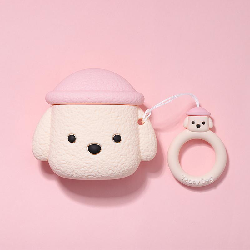 Cute Dog Silicone Protective Case For Apple Airpods 1 & 2 - Casememe.com