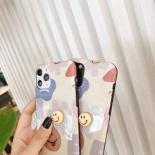 Load image into Gallery viewer, Takashi Style Flower Glossy Shockproof Protective Designer iPhone Case For iPhone SE 11 Pro Max X XS Max XR 7 8 Plus - Casememe.com