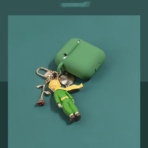 The Little Prince Style Keychain Silicone Protective Case For Apple Airpods 1 & 2 - Casememe.com