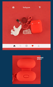 Coca Cola Style Ice Cube Silicone Protective Shockproof Case For Apple Airpods 1 & 2 - Casememe.com
