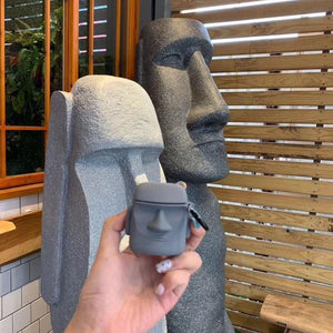 Amo Style Grey Man Soft Silicone Protective Case For Apple Airpods 1 & 2 - Casememe.com