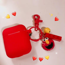 Load image into Gallery viewer, Sesame Street Style Elmo Cookie Silicone Protective Shockproof Case For Apple Airpods 1 & 2 - Casememe.com