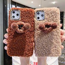 Load image into Gallery viewer, Poodle Puppy Furry Shockproof Protective Designer iPhone Case For iPhone 11 Pro Max X XS Max XR 7 8 Plus - Casememe.com