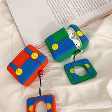 Load image into Gallery viewer, Mario Style Pants Silicone Designer Protective Shockproof Case For Apple Airpods 1 & 2