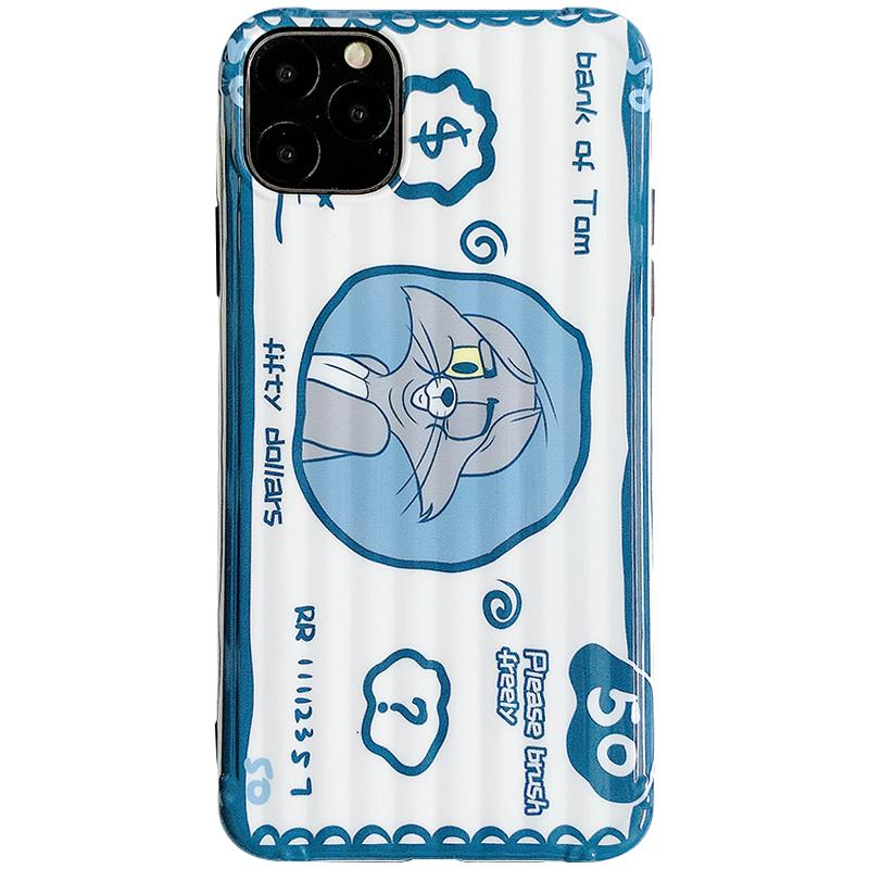 Tom And Jerry Style Sculpted Silicone Shockproof Protective Designer iPhone Case For iPhone SE 11 Pro Max X XS Max XR 7 8 Plus - Casememe.com