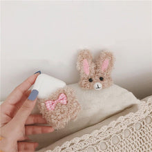 Load image into Gallery viewer, Cute Rabbit Furry Protective Case For Apple Airpods 1 & 2 - Casememe.com