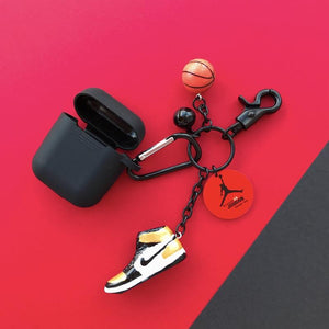 Air Jordan Sneaker Silicone Protective Shockproof Case For Apple Airpods 1 & 2 - Casememe.com
