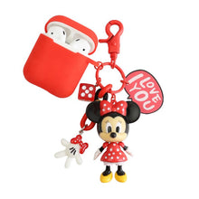 Load image into Gallery viewer, Disney Mickey Minnie Mouse Silicone Protective Shockproof Case For Apple Airpods 1 & 2 - Casememe.com