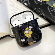Load image into Gallery viewer, Simpson Style Hard Protective Case For Apple Airpods 1 & 2 - Casememe.com