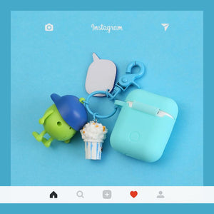 Monsters University Silicone Protective Shockproof Case For Apple Airpods 1 & 2 - Casememe.com
