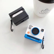 Load image into Gallery viewer, Polaroid Camera Silicone Square Protective Case For Apple Airpods Pro - Casememe.com