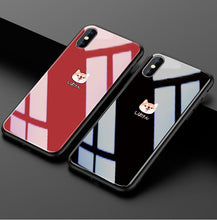 Load image into Gallery viewer, Corgi Tempered Glass Designer iPhone Case For iPhone SE 11 Pro Max X XS XS Max XR 7 8 Plus - Casememe.com