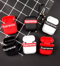 Load image into Gallery viewer, Supreme Style Modern Silicone Protective Shockproof Case For Apple Airpods 1 & 2 - Casememe.com