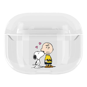 Snoopy Style Charlie Clear Hard Protective Designer Case For Apple Airpods Pro - Casememe.com