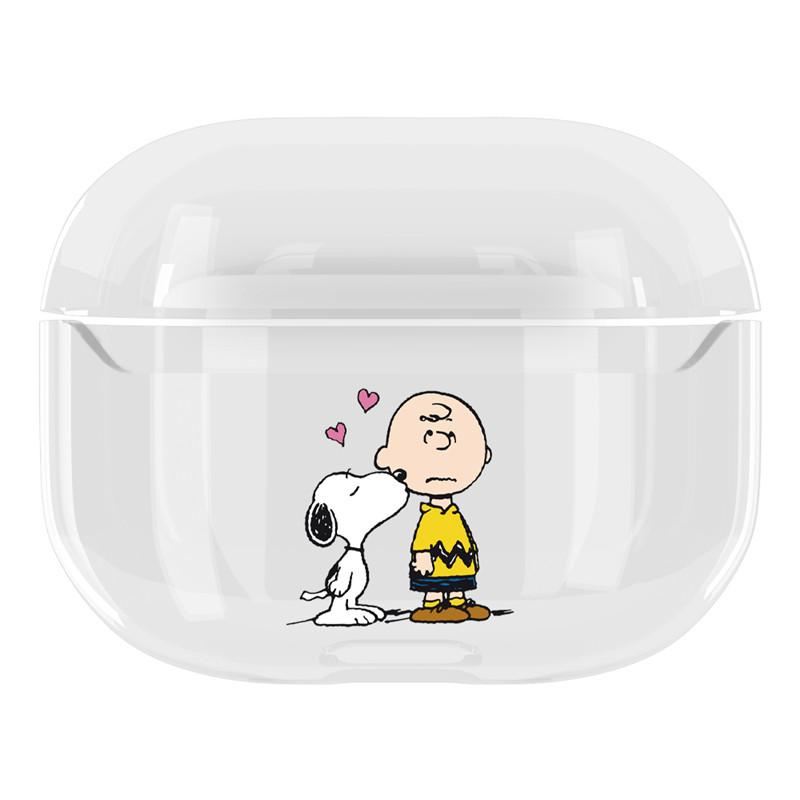 Snoopy Style Charlie Clear Hard Protective Designer Case For Apple Airpods Pro Casememe