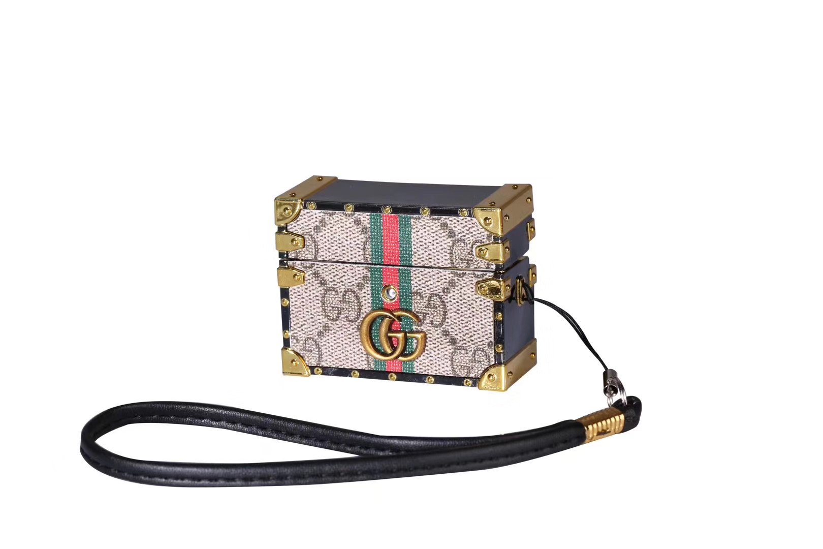 Gucci Style Classic Marmont Trunk Protective Case For Apple