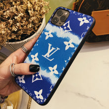 Load image into Gallery viewer, Louis Vuitton Style Candy Luxury Leather Shockproof Protective Designer iPhone Case For iPhone 12 SE 11 Pro Max X XS Max XR 7 8 Plus - Casememe.com