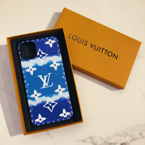 Louis Vuitton Style Candy Luxury Leather Shockproof Protective Designer iPhone Case For iPhone SE 11 Pro Max X XS Max XR 7 8 Plus - Casememe.com