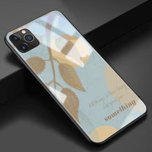 Load image into Gallery viewer, Artsy Autumn Leaves Tempered Glass Shockproof Protective Designer iPhone Case For iPhone 11 Pro Max X XS Max XR 7 8 Plus - Casememe.com