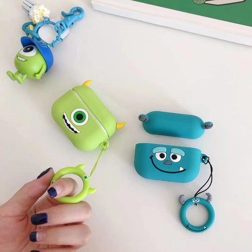 Monster University Style Silicone Protective Shockproof Case For Apple Airpods Pro - Casememe.com