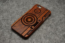 Load image into Gallery viewer, Wooden iPhone Case 100% Handmade Natural Real Wood Bamboo Hard Case for iPhone X XR XS MAX - Casememe.com