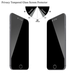 BEST Privacy 9H Tempered Glass Quality Anti Spy Ultra Thin Screen Protector Film For iPhone SE 11 Pro Max X XS Max XR 7 8 Plus - Casememe.com
