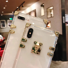 Load image into Gallery viewer, Luxury High Fashion Perfume Clear Silicone iPhone Protective Trunk Case For iPhone X / XS / XS Max / XR - Casememe.com