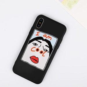 Funny Sexy Nose I am Cool Transparent iPhone Protective Case For iPhone X  XS  XS Max XR - Casememe.com