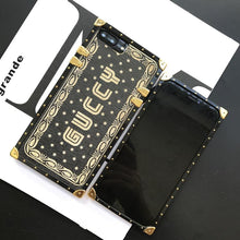 Load image into Gallery viewer, Luxury Gucci Style Guccy Vintage Trunk Box Fashion Silicone Designer iPhone Case For iPhone X XS XR XS Max - Casememe.com