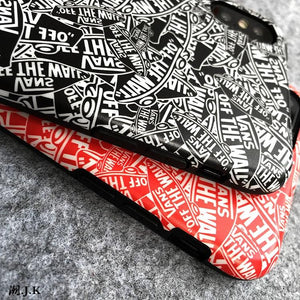 VANS Off The Wall Style Trendy Skateboard Soft Silicone Designer iPhone Case For iPhone X XS XS Max XR 7 8 Plus - Casememe.com