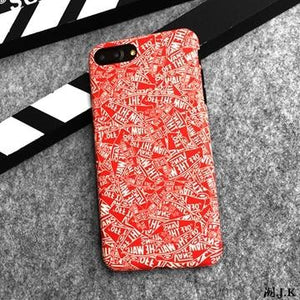 VANS Off The Wall Style Trendy Skateboard Soft Silicone Designer iPhone Case For iPhone X XS XS Max XR 7 8 Plus