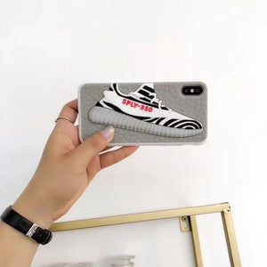 Yeezy Retro Sneaker Dope Hyperbeast Grippy Shockproof Case For iPhone SE 11 PRO MAX X / XS / XS Max / XR - Casememe.com