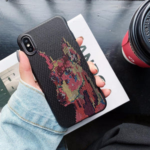 Luxury Givenchy Style Soft Silicone Ultra Thin Designer iPhone Case For iPhone X XS XS Max XR - Casememe.com