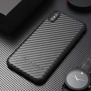 Carbon fibers Super Car AMG BMW M Shockproof Bumper Case with Lanyard and Keychain for iPhone 12 SE 11 PRO MAX 7 7plus 8 8plus X XR XS Max - Casememe.com