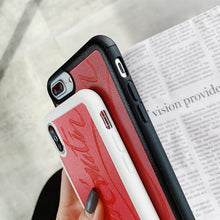Load image into Gallery viewer, Christian Louboutin Style Red Silicone Bumper Luxury Designer iPhone Case For iPhone 11 pro max 11 pro 11X XS Max XR - Casememe.com