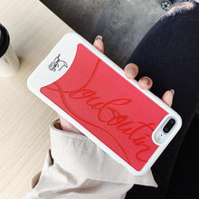 Load image into Gallery viewer, Christian Louboutin Style Red Silicone Bumper Luxury Designer iPhone Case For iPhone X XS XS Max XR - Casememe.com
