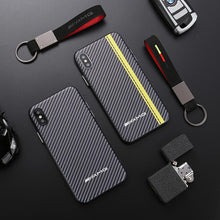 Load image into Gallery viewer, Sports Car AMG RS BMW M Series Carbon Fiber Case For iPhone X / XS / XS Max / XR - Casememe.com