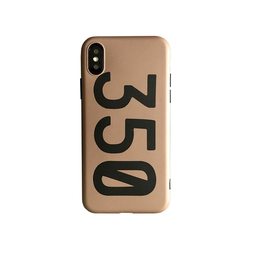 Luxury Yeezy Style 350 Sneakers Kanye West BOOST 350 V2 Shoe Box Designer iPhone Case For iPhone X XS XR XS Max - Casememe.com