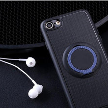 Load image into Gallery viewer, MORE COLORS Modern Car Mount Magnet Soft Silicone Designer iPhone Case With Ring Holder Kickstand For iPhone X XS XS Max XR - Casememe.com