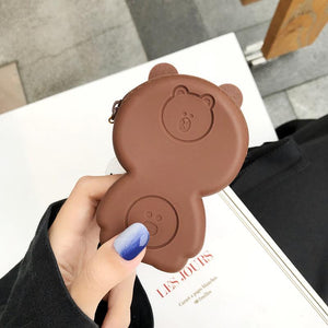 LINE Friends Bear Rabbit Totoro Silicone Protective Shockproof Case For Apple Airpods 1 & 2 - Casememe.com