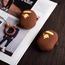 Load image into Gallery viewer, Retro Bape Style 3D Street Fashion Silicone Protective Shockproof Case For Apple Airpods 1 & 2 - Casememe.com