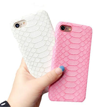 Load image into Gallery viewer, MORE COLORS Luxury Fashion Crocodile Leather Protective Designer iPhone Case For iPhone 5 5S SE 6 6S 7 8 Plus X XR XS Max Hard Plastic Protective Phone Back Cover Gift - Casememe.com