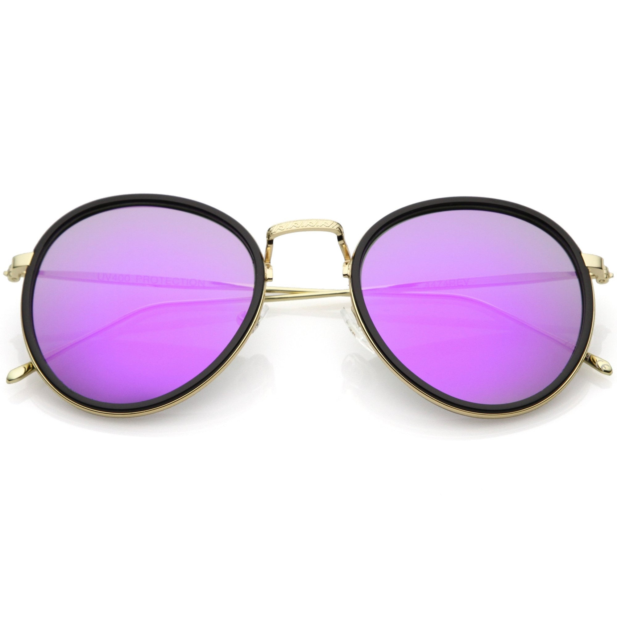 Black Gold Purple Mirror