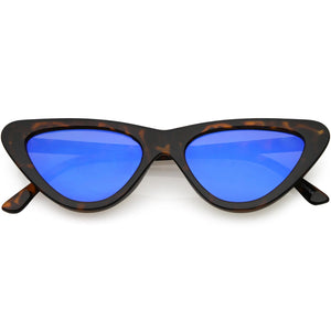 1990's Retro Narrow Cat Eye Sunglasses