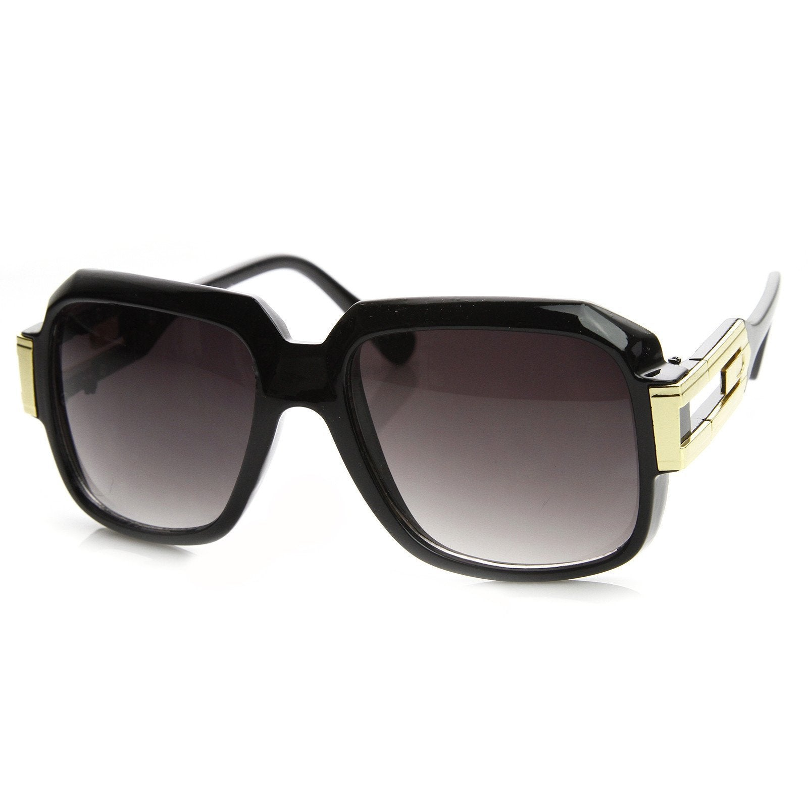 Square 80's Euro Aviator Sunglasses