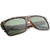 Streetwear Rectangle Flat Top Block Sunglasses