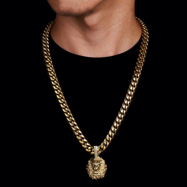 Stainless Steel Miami Cuban Link Chain United Se7en